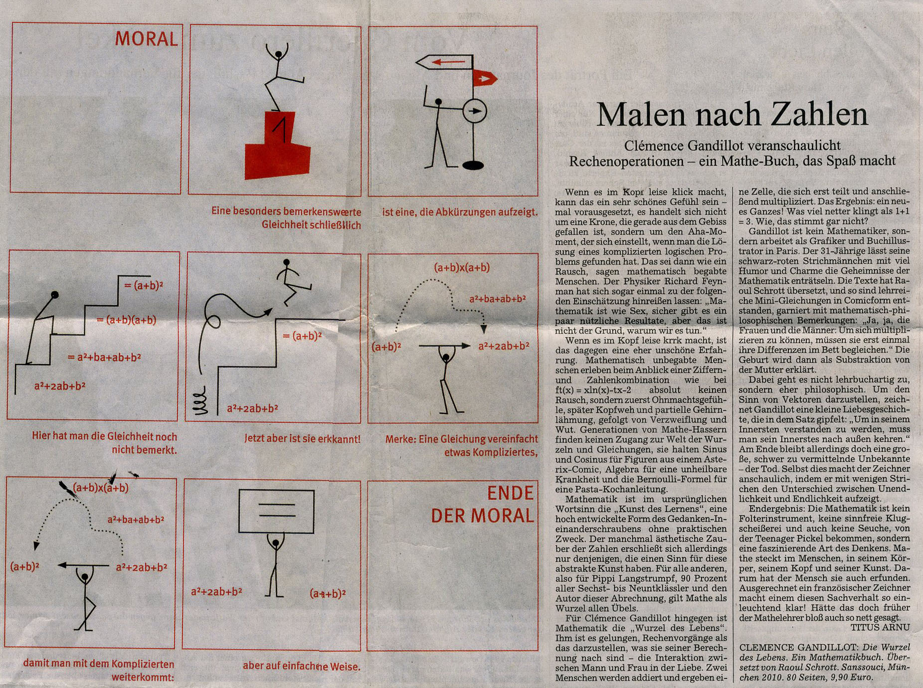 2010_09_17_Süddeutsche Zeitung_Clemence Gandillot coupe